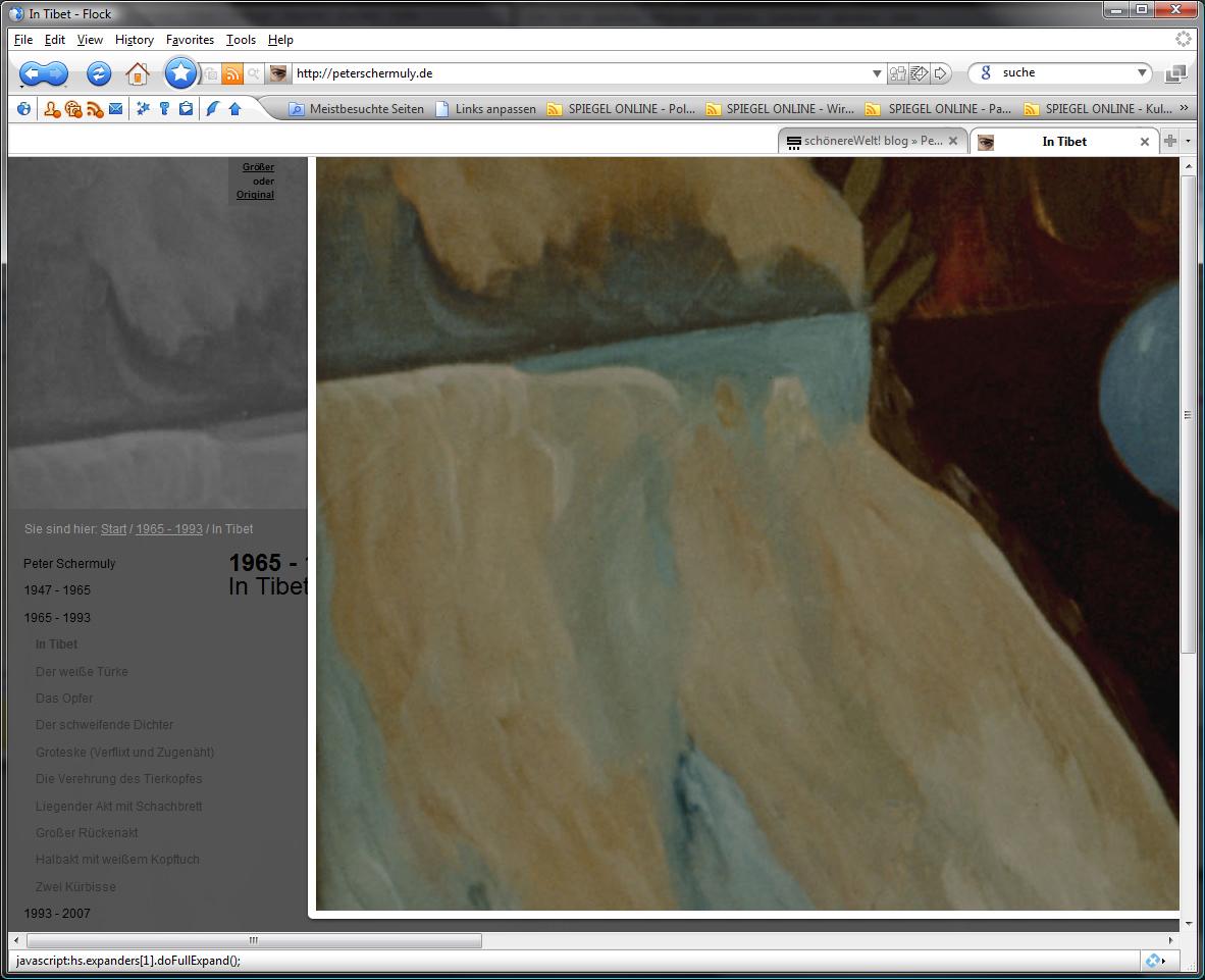 """Abbildung zeigt die """"Dritte Stufe"""" der Darstellung eines Bildes zur Erforschung und Betrachtung."""