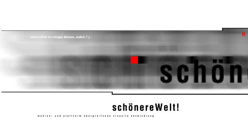 Die erste horizontal scrollende Website der Welt! schönereWelt 1999