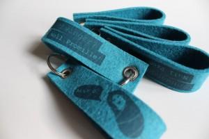Give Away: Schlüsselanhänger aus Schafswolle Made in Germany