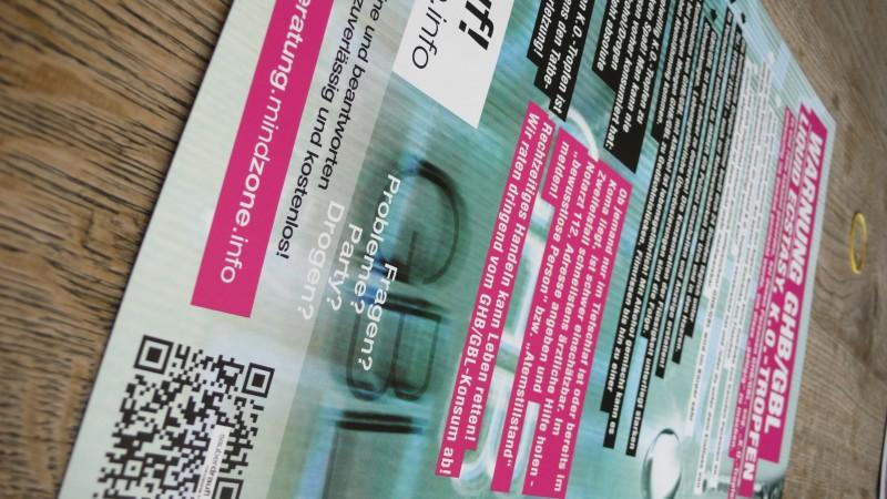 ghb-gbl liquid ecstasy booklet der kampagne fuer mindzone sauber drauf