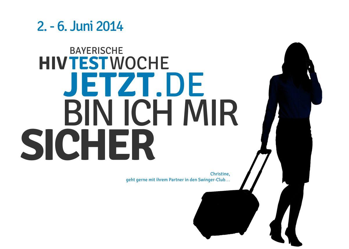 HIV-Testwoche-2014-Postkarten-Christine-Frau-Koffer-Trolley-1200x856px