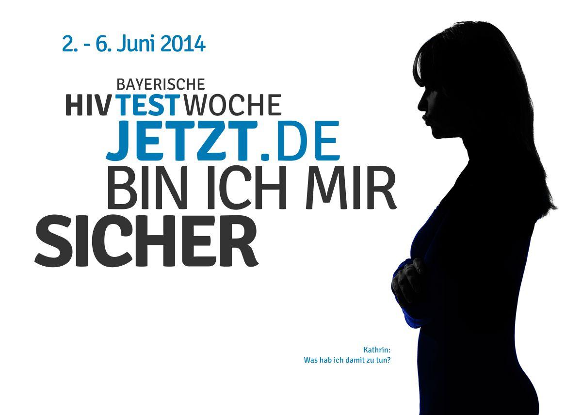 HIV-Testwoche-2014-Postkarten-Kathrin-Frau-stehend-Profil-1200x856px