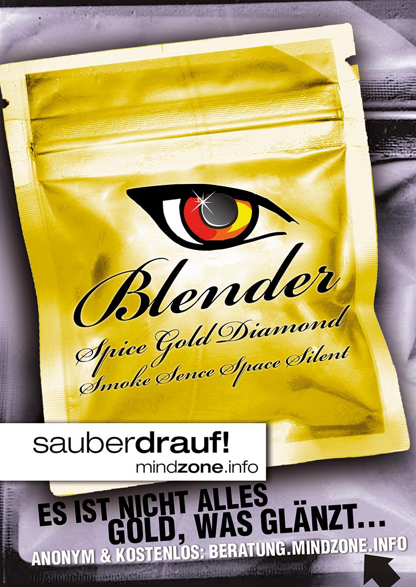 Mindzone-sauber-drauf-Spice_Poster-Blender-850x1200px