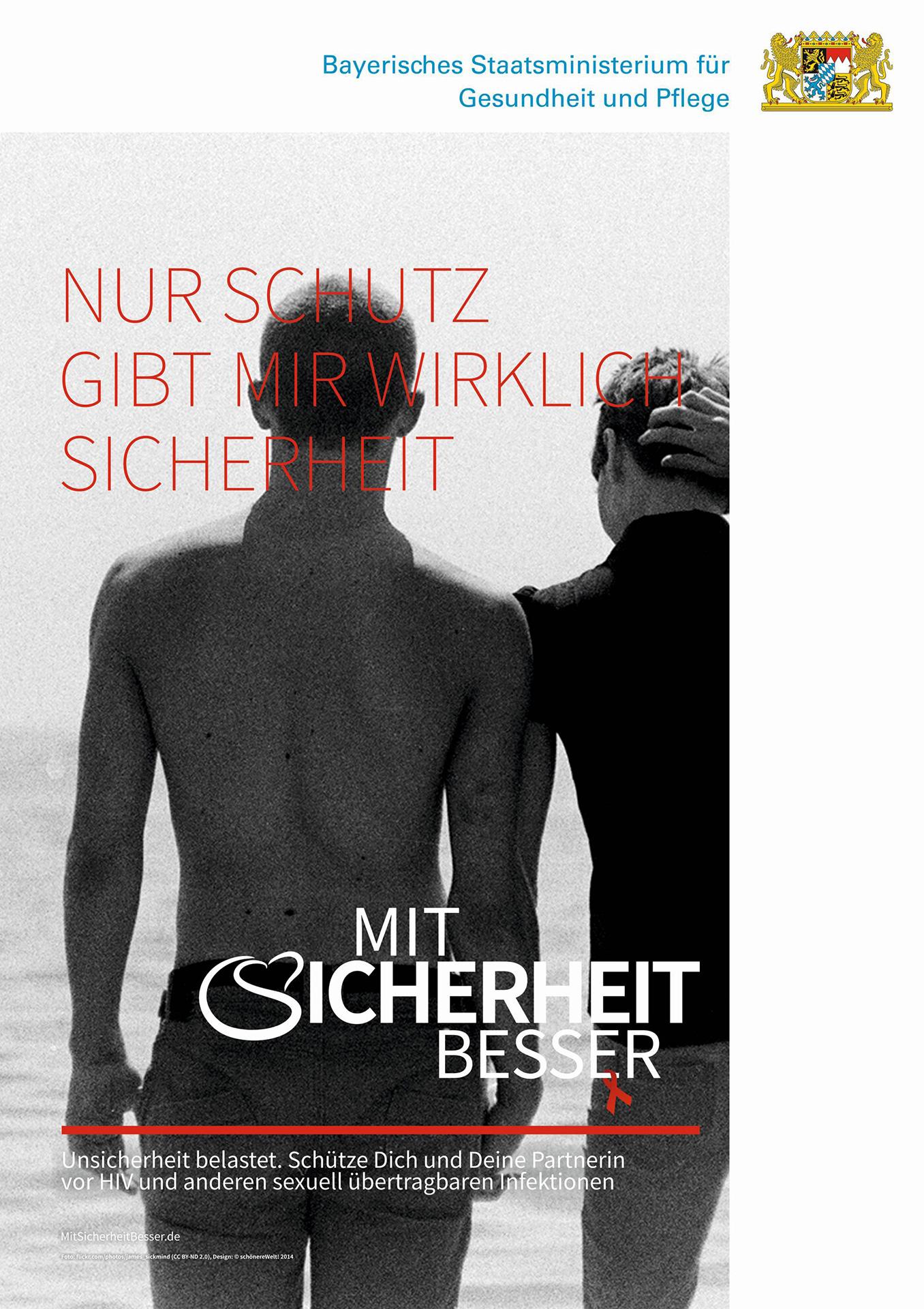 Mit-Sicherheit-Besser-A3-Poster-Couple-Strand-1356x1920px