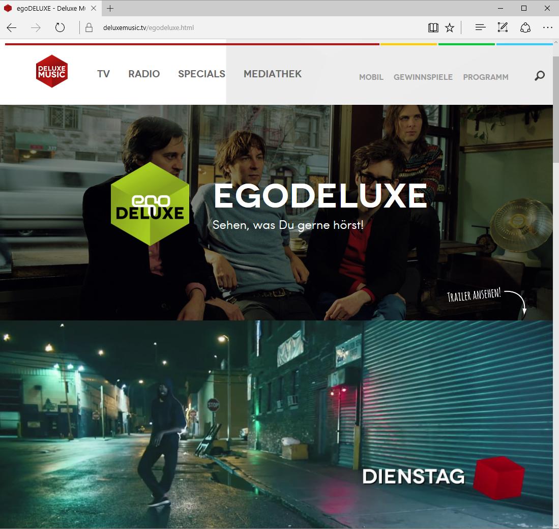 egoFM Radio und DELUXE MUSIC TV sind zusammen egoDELUXE mit neuem Logo von schönereWelt!