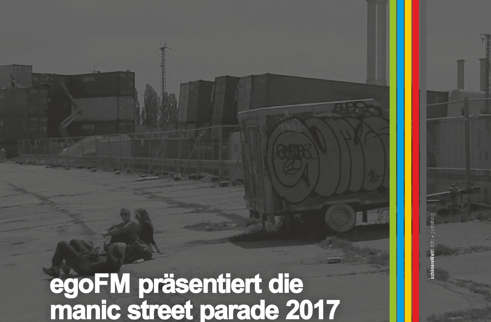egoFM-Manic-Street-Parade-2017-Muenchen-Sendling-Schlachthof-Viertel ein Auschnitt mit dem Heizkraftwerk