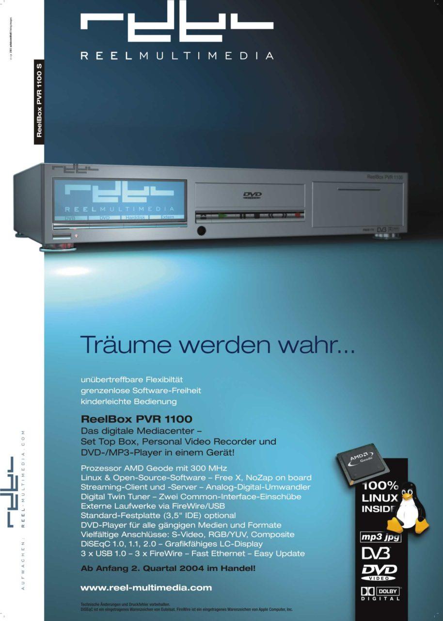 reel multimedia ad a4